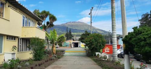 Vista Volcán Galeras desde INEM